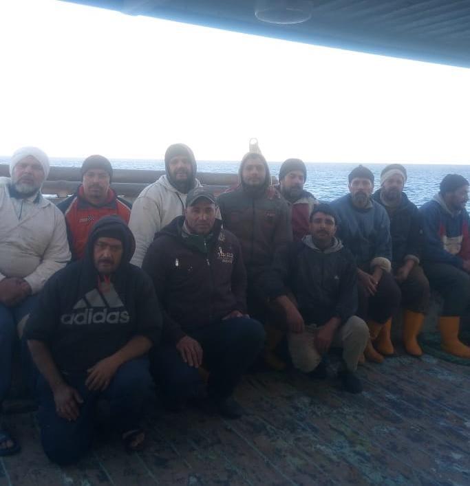 الصيادين الناجين من الغرق
