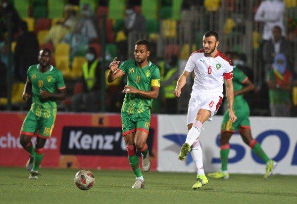 مباراة المغرب وموريتانا بتصفيات أمم أفريقيا