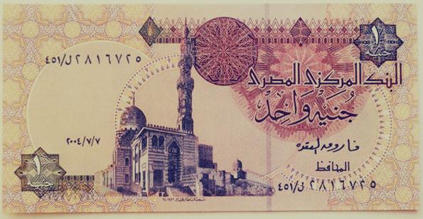 العملة الورقية للجنيه المصرى