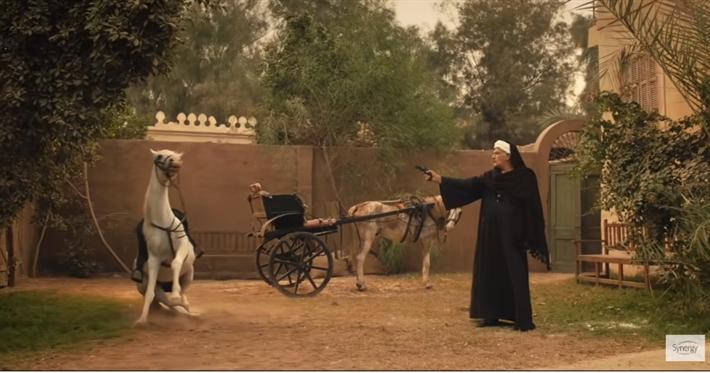 رياض الخولي يقتا حصان