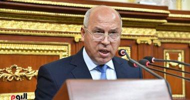 كامل الوزير وزير النقل امام مجلس النواب