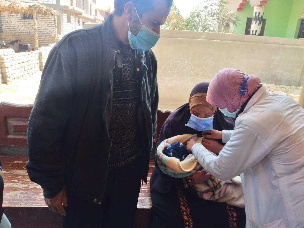 حملة شلل الاطفال بالمنيا