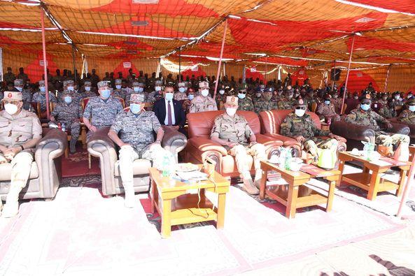 فعاليات ختام التدريب الجوي المشترك المصري السوداني «نسور النيل – 2»