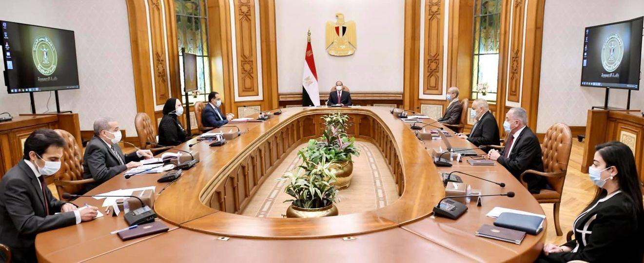 اجتماع الرئيس السيسي