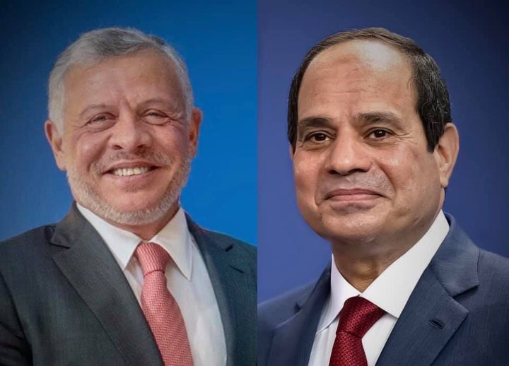 مصر والأردن