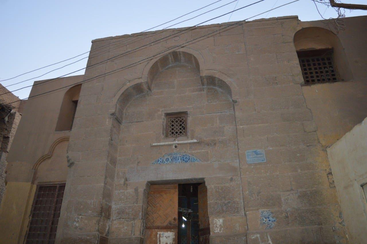 واجهة المسجد