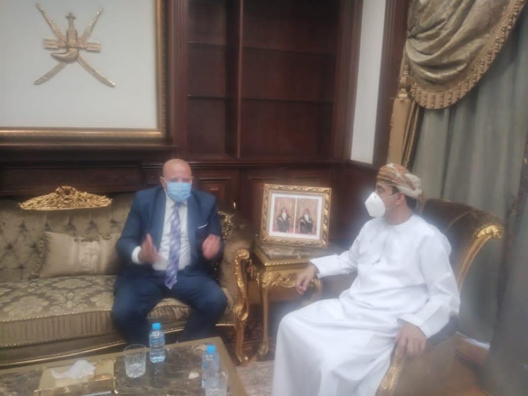 سفير سلطنة عُمان والإعلامي عبد الله تمام