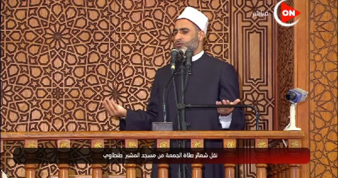 الشيخ سيد عبدالبارى وكيل وزارة الأوقاف