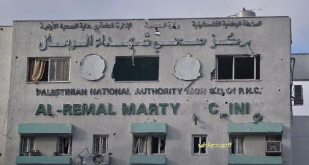 مختبر كورونا في غزة