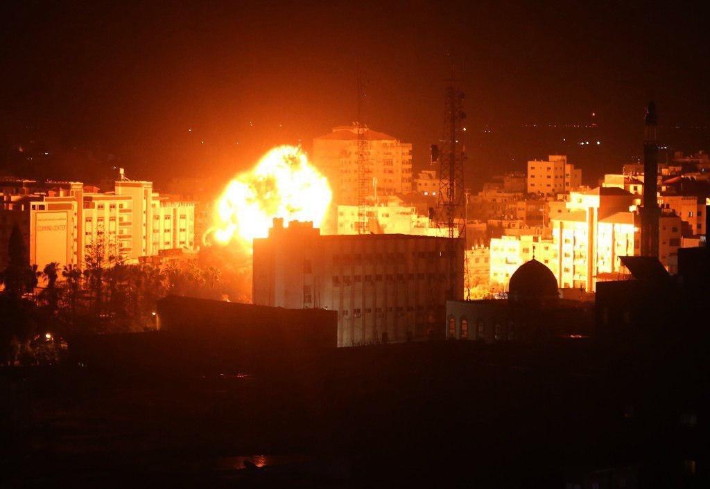 جيش الاحتلال يقصف كفر شوبا