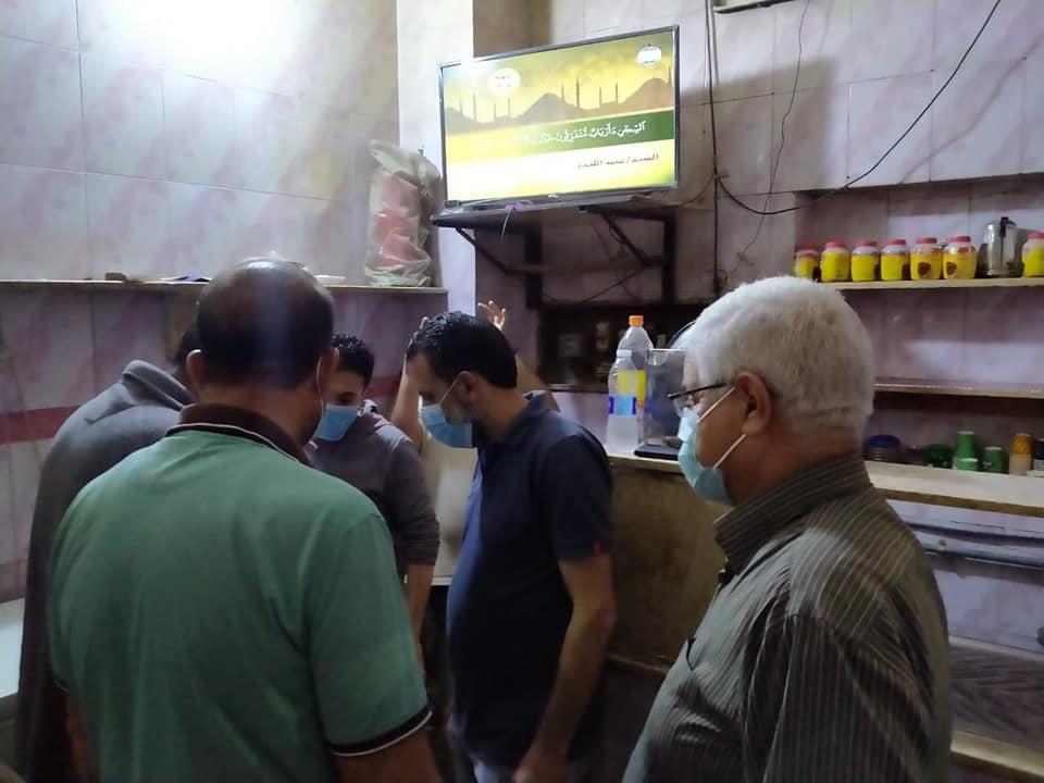 رئيس مدينة ميت أبوغالب أثناء الجولة الميدانية