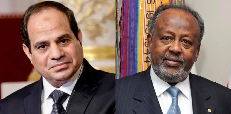 الرئيس السيسي والرئيس إسماعيل عمر