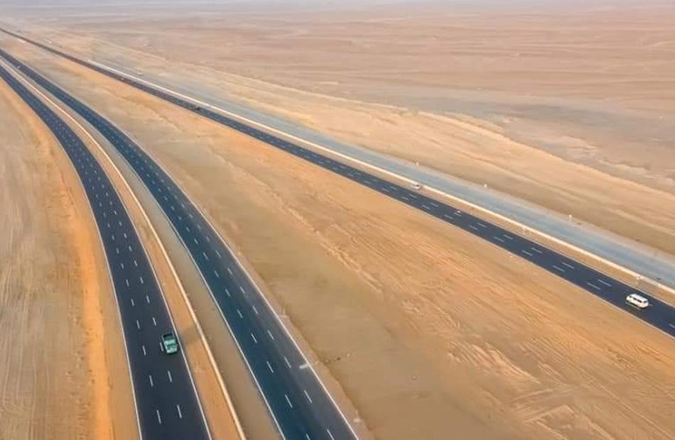 طريق الصعيد الصحراوى الغربى