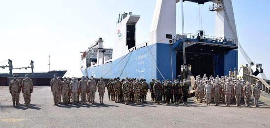 التدريب المشترك بين مصر والسودان