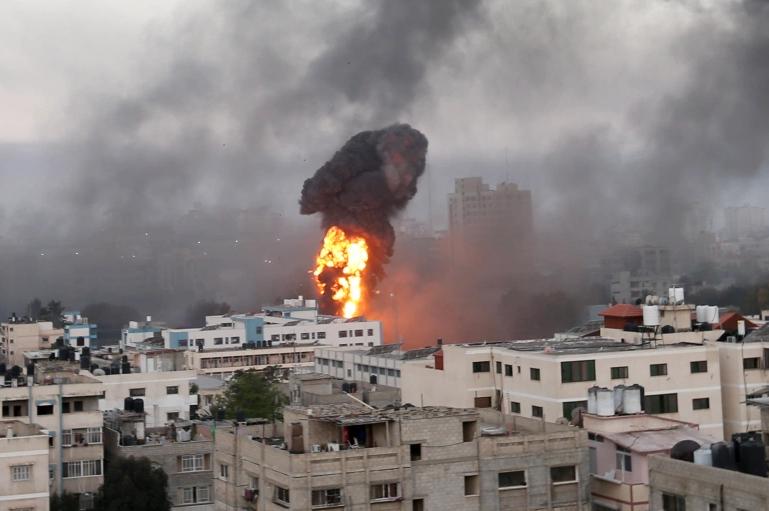 الهجوم على قطاع غزة
