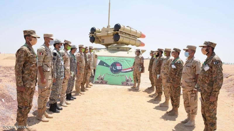التدريب المصري الباكستاني
