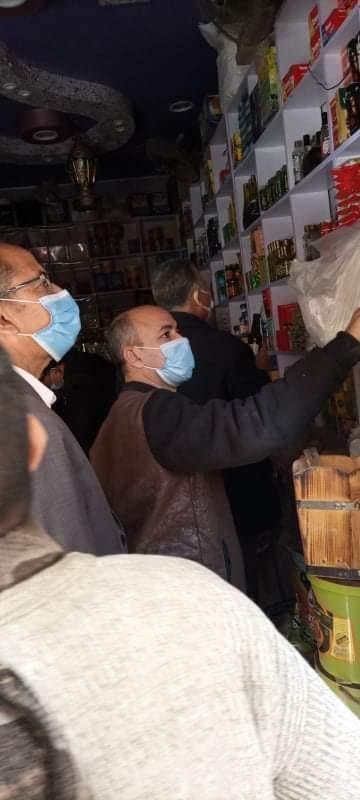 حملات رقابية لصحة المنيا