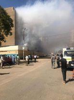 حريق مستشفى الاميري