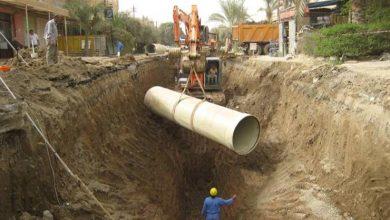 أطوال شبكات المياه في مصر