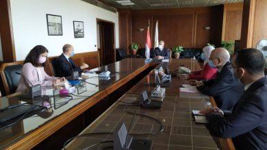 اجتماع وزير الري مع سفير المجر