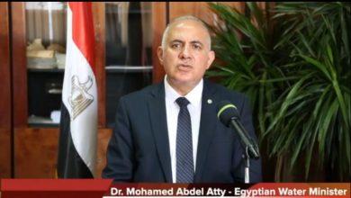 الدكتورعبد العاطى وزير الموارد المائية والري