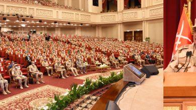 وزير الدفاع يلتقى عددًا من الضباط المعينين