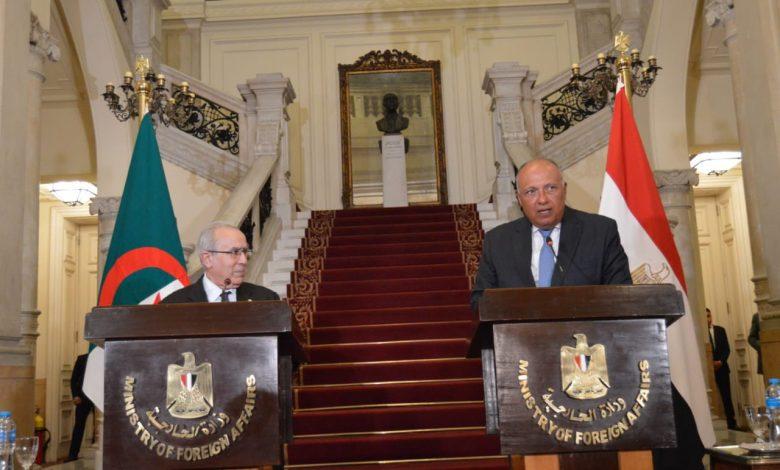 وزير الخارجية الجزائري