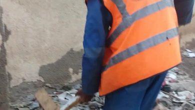 أعمال تنظيف و ترميم مقر الاتحاد