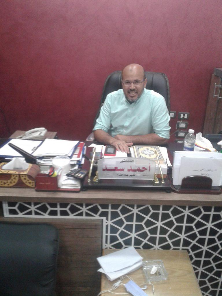 د احمد سعد مدير التامين الصحى بالمنيا