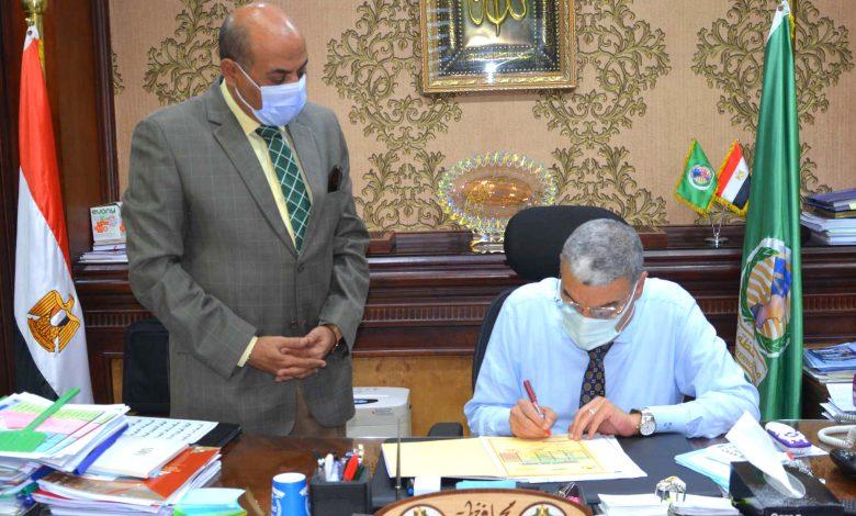 محافظ المنيا يوافق على نتائج الجولة الثانية من الشهادة الإعدادية