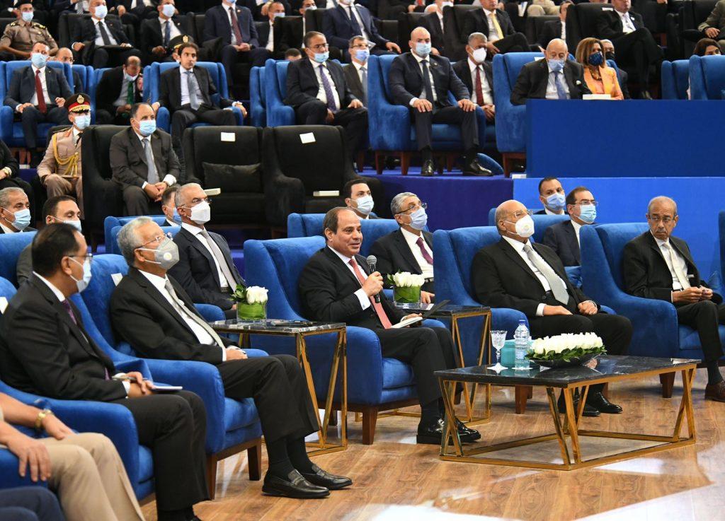 مشاركة الرئيس السيسي فى إطلاق تقرير الأمم المتحدة للتنمية البشرية بمصر