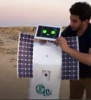 مهندس مصري يبتكر روبوت