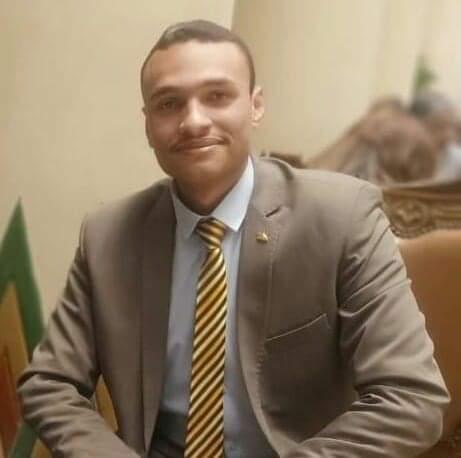 محمد علي عبد المنعم عضو الأمانة المركزية للشباب بالحزب العربي الديمقراطي الناصري